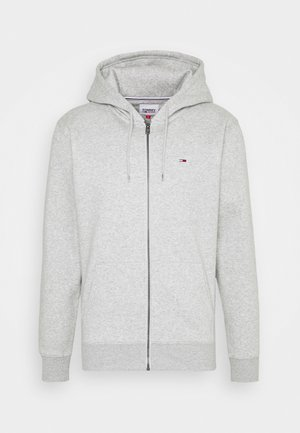 REGULAR ZIP HOOD - Bluza rozpinana - light grey heather
