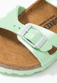 Birkenstock - RIO - Sandals - electric metallic mint - 2