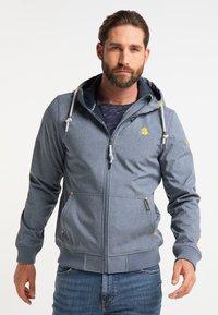 Schmuddelwedda - Waterproof jacket - dunkelmarine melange - 0
