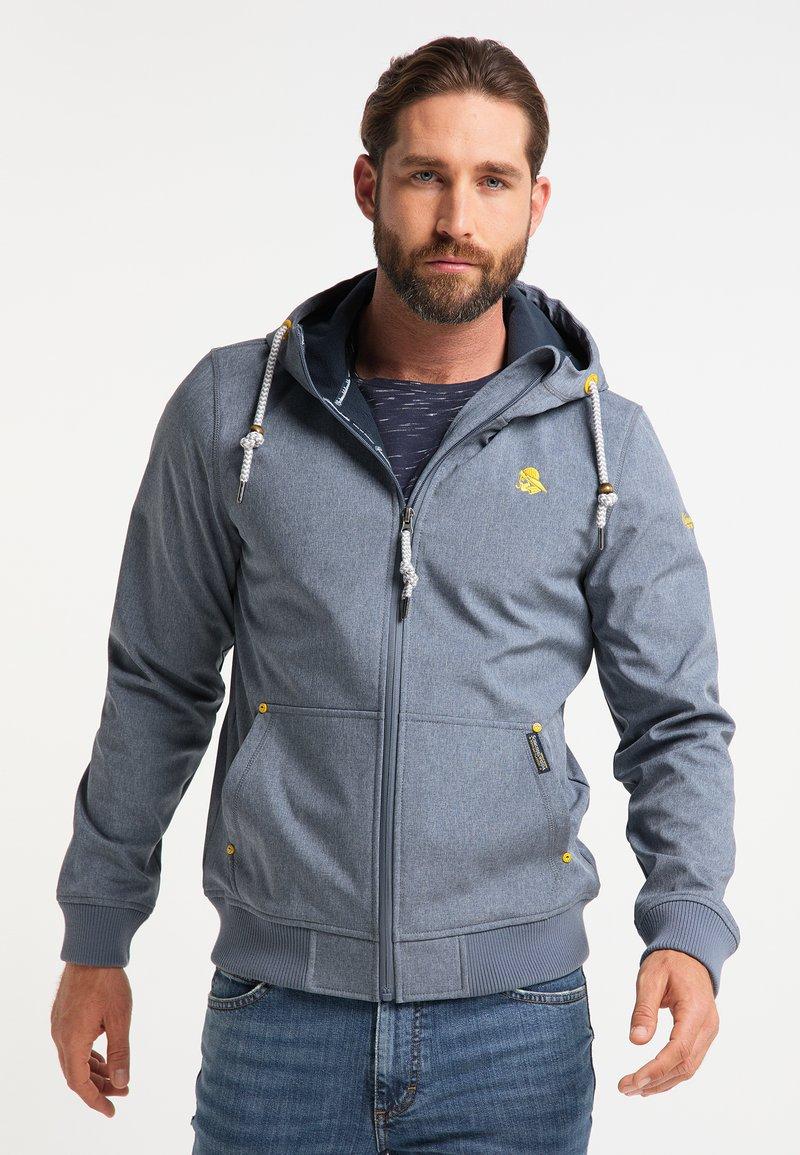 Schmuddelwedda - Waterproof jacket - dunkelmarine melange