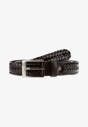 BARCIS - Braided belt - black
