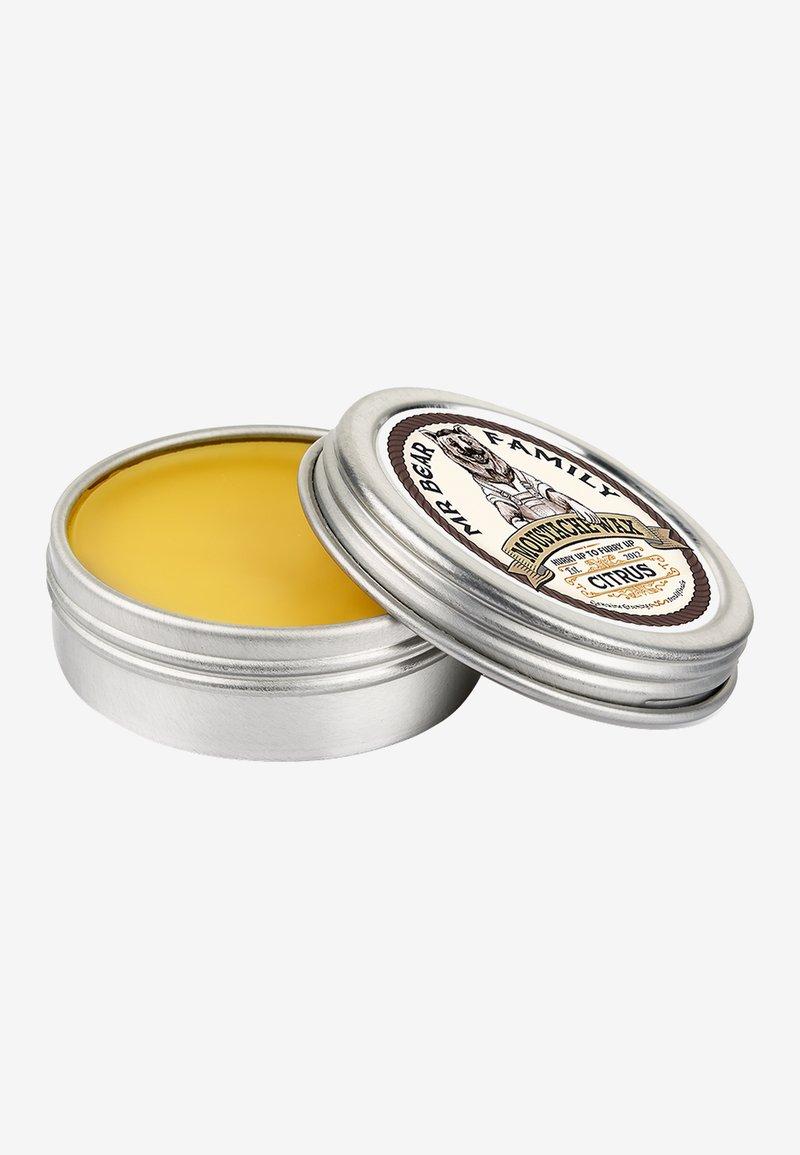 Mr Bear Family - MOUSTACHE WAX - Beard oil - citrus