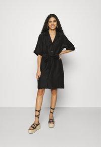 ARKET - Shirt dress - black - 0
