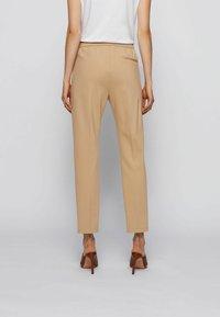 BOSS - Trousers - beige - 2