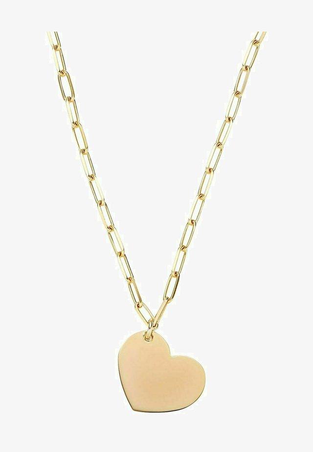 MIT ANHÄNGER - Necklace - gold