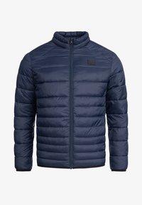 Jack & Jones - MIT STEHKRAGEN - Light jacket - navy blazer - 4