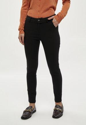 CARMA PANTS 7/8 - Chinos - black