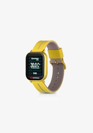 Smartwatch - yellow/grey