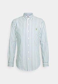OXFORD - Shirt - green/white