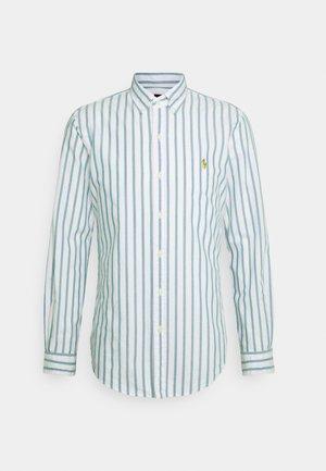 OXFORD - Camicia - green/white