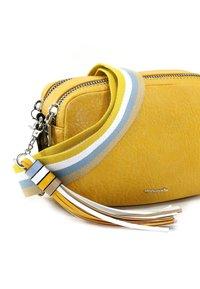 Tamaris - CHRISTA - Across body bag - yellow - 5