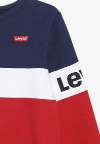 Levi's® - COLORBLOCKED CREW - Sweatshirt - medieval blue - 4