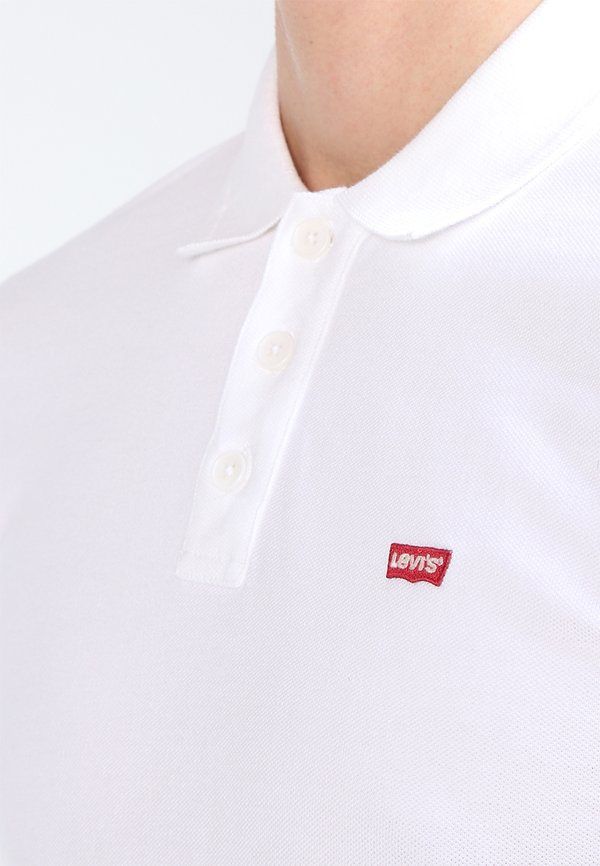 Levi's® HOUSEMARK - Koszulka polo - bright white/biały Odzież Męska JKCN