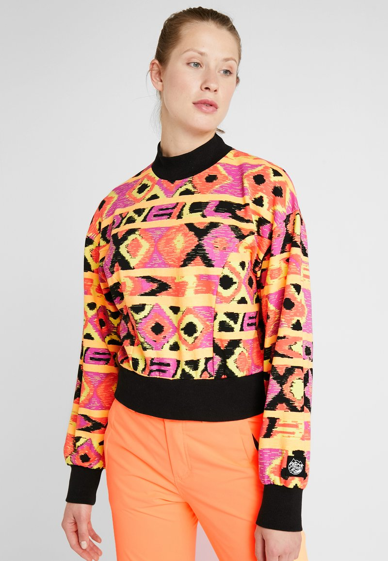 O'Neill - FROZEN WAVE CREW - Sweatshirt - red/black