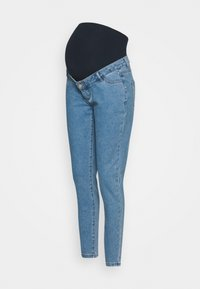 Missguided Maternity - MATERNITY HIGHWAISTED COMFORT STRETCH - Relaxed fit jeans - blue - 0