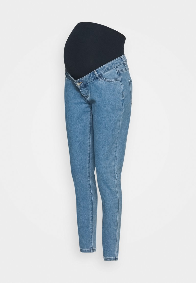 Missguided Maternity - MATERNITY HIGHWAISTED COMFORT STRETCH - Relaxed fit jeans - blue
