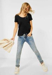 Street One - Basic T-shirt - schwarz - 3