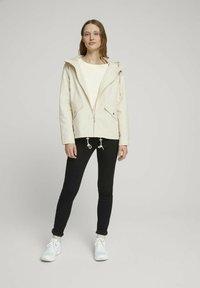 TOM TAILOR DENIM - Summer jacket - light beige - 1