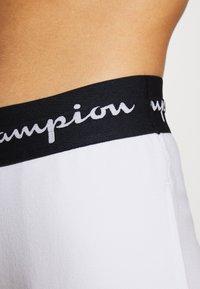 Champion - CUFF PANTS LEGACY - Tracksuit bottoms - white - 5