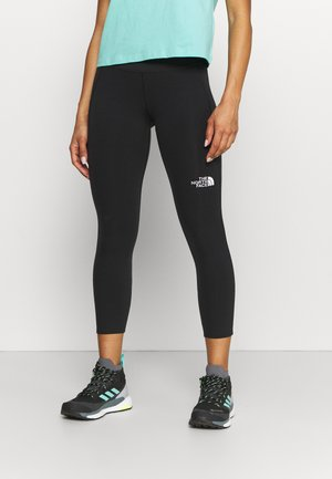 MOVMYNT CROP  - Leggings - black