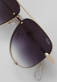 QUAY AUSTRALIA - HIGH KEY MINI RIMLESS - Sunglasses - gold-coloured/black - 3