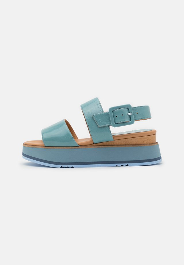 JAVARI - Platform sandals - lory astrale