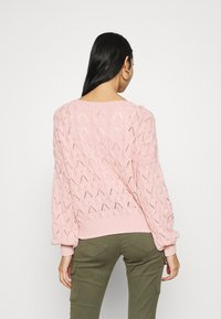 ONLY - ONLBRYNN LIFE STRUCTURE  - Jumper - adobe rose - 2