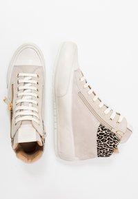 Candice Cooper - BEVERLY - Sneakers alte - tortora/gold - 3
