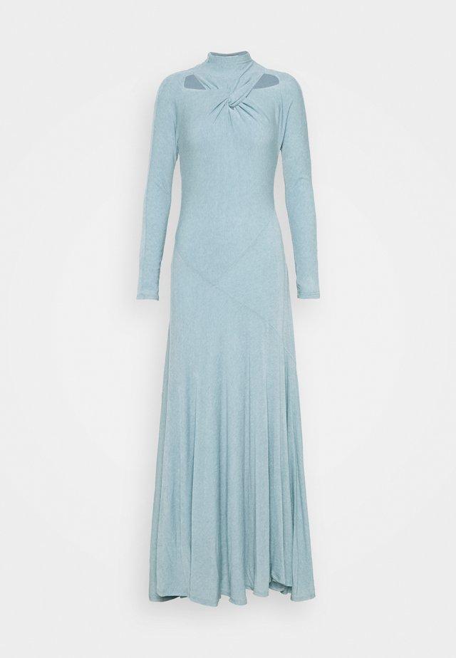 MAIA DRESS - Gebreide jurk - blue