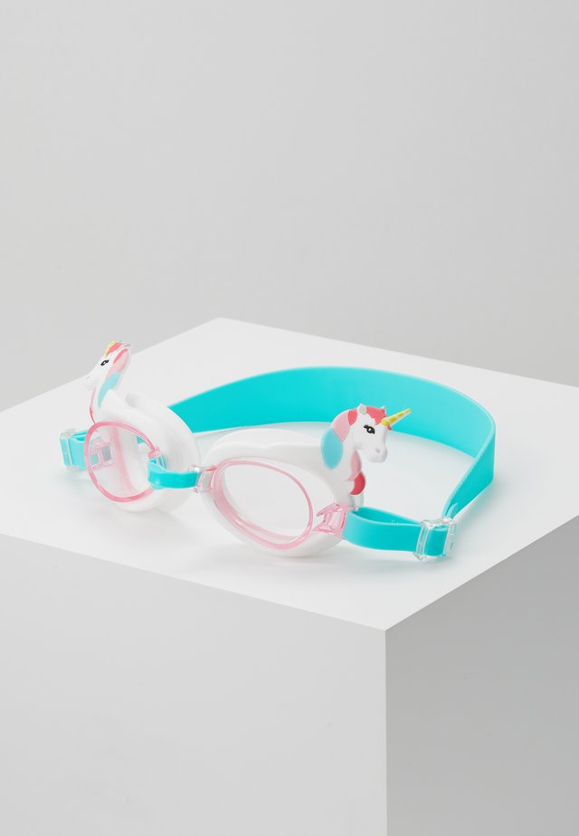 SHAPED SWIMMING GOGGLES - Zabawka - turquoise