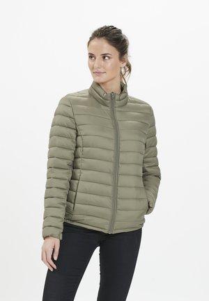 STEPPJACKE TEPIC W PRO-LITE - Winter jacket - deep lichen green