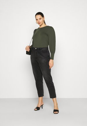 VMPANDA MUTTON - Long sleeved top - khaki