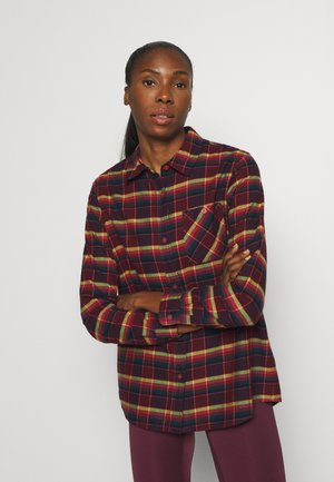 GRACE - Button-down blouse - port royal sunset