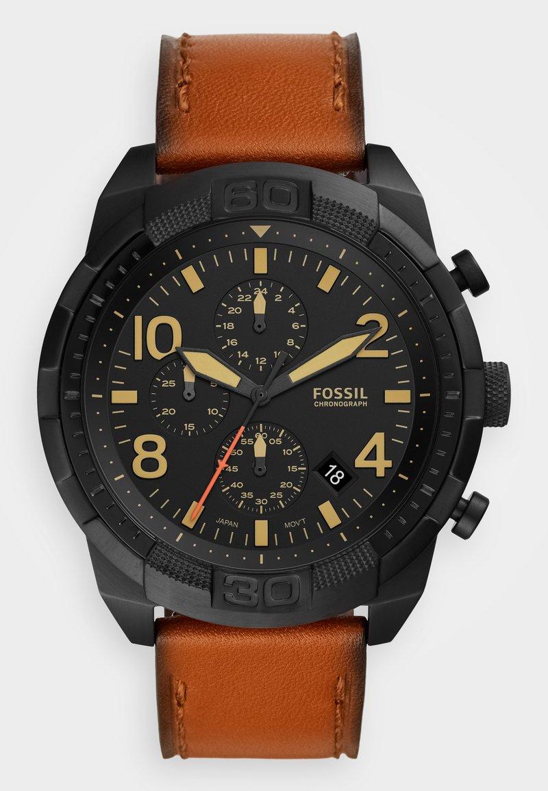 Fossil - BRONSON - Cronografo - brown