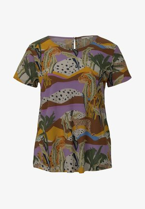 T-shirt con stampa - tropical safari print