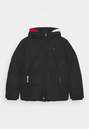 ESSENTIAL PADDED JACKET - Winterjas - black