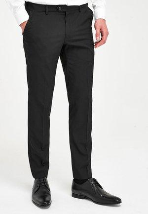 Pantaloni eleganti - mottled anthracite
