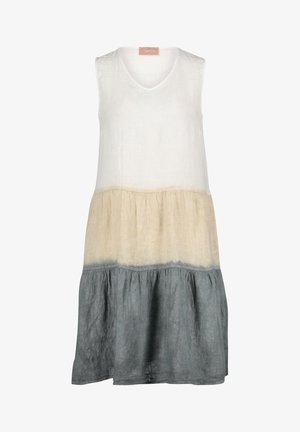 SOMMER OHNE ARM - Robe d'été - beige/white/grey