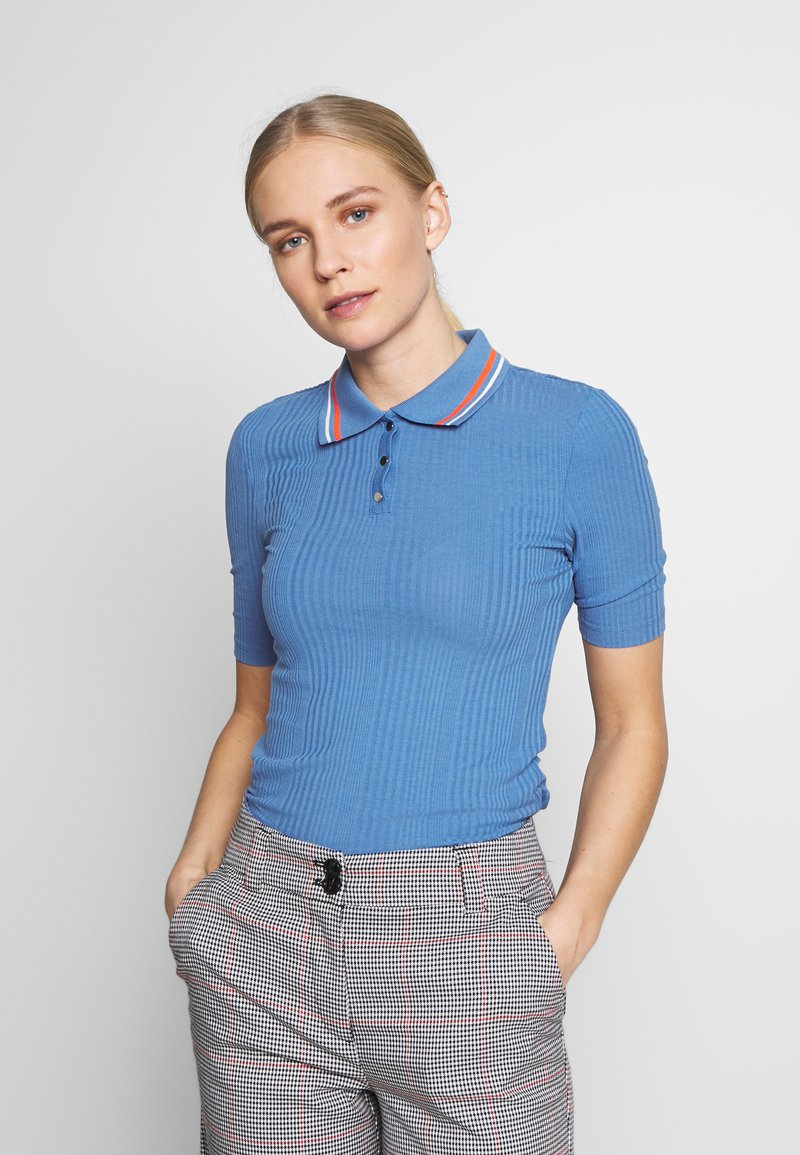 TOM TAILOR DENIM - Poloskjorter - blue