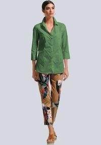 Alba Moda - Trousers - cognac,marineblau,rot,grün - 1