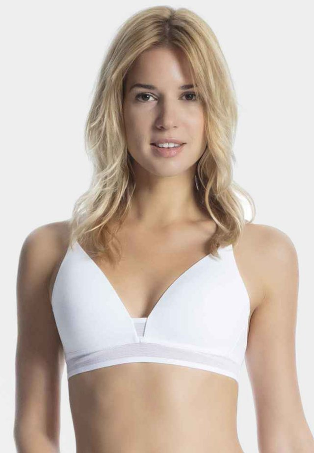 EVER FRESH - Triangle bra - white