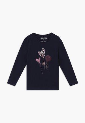 KIDS SEQUIN HEART BALLOON - Camiseta de manga larga - nachtblau
