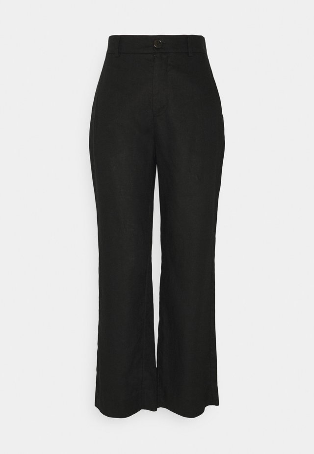 SERENA TROUSERS - Trousers - black