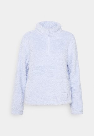 HALFZIP - Sweat polaire - jet stream blue