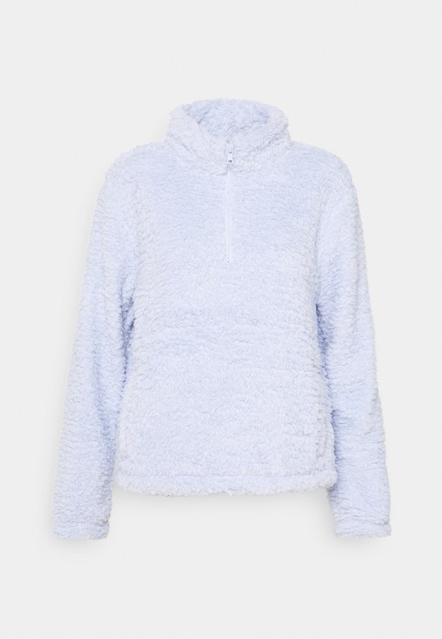 HALFZIP - Fleece jumper - jet stream blue