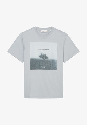 T-shirt z nadrukiem - grey horizon