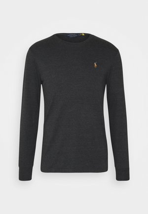 Long sleeved top - black marl heathe