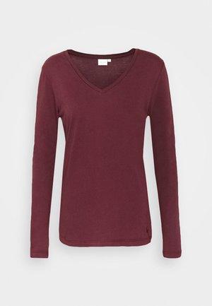NAIA LONG SLEEVE  - Langærmede T-shirts - decadent chocolate
