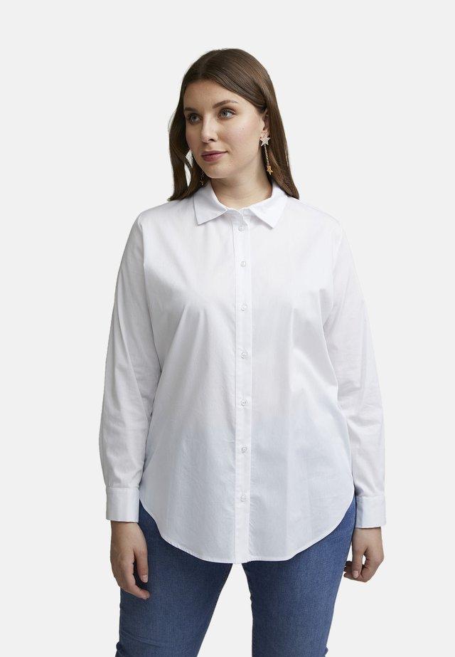 Button-down blouse - bianco