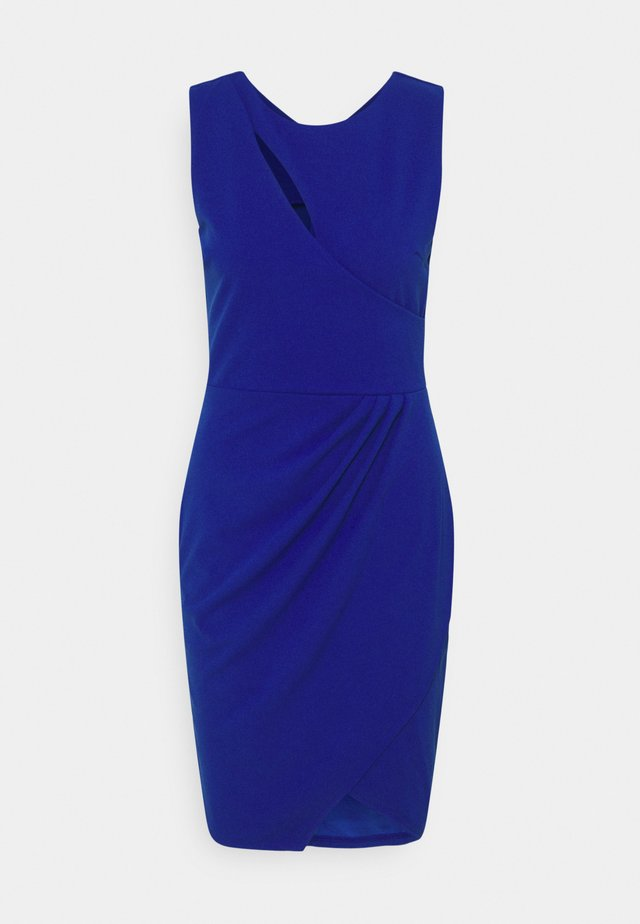 MAE CUT OUT MINI DRESS - Cocktailkjoler / festkjoler - electric blue